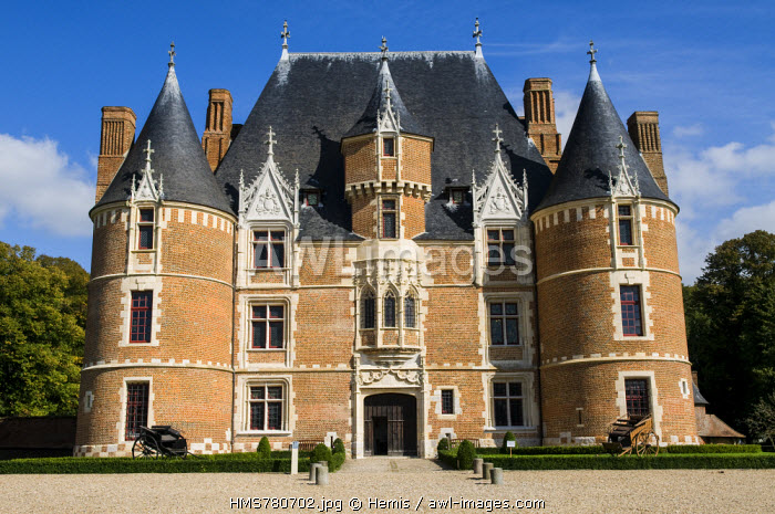 France, Seine Maritime, chateau of Martainville, Museum of the traditions and the Norman arts