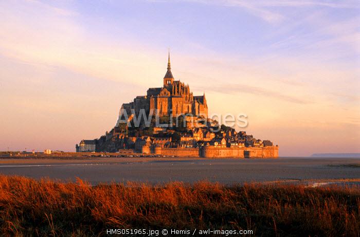 France, Manche, Mont Saint Michel Bay