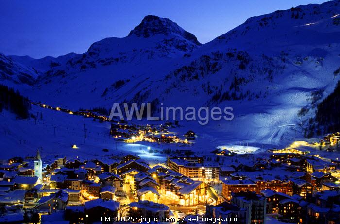 France, Savoie, Val d'Isere Ski Resort