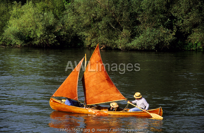 France, Eure, Poses, Seine River
