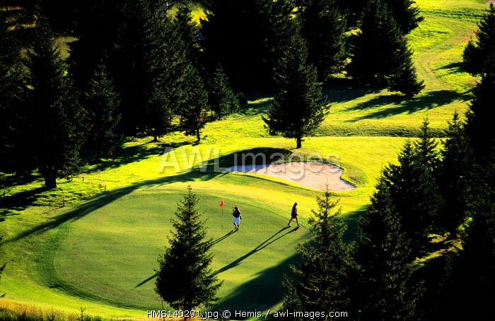 France, Haute Savoie, Morzine Avoraz golf