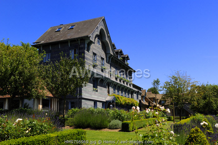 France, Calvados, Honfleur, the luxury hotel La Ferme Saint Simeon