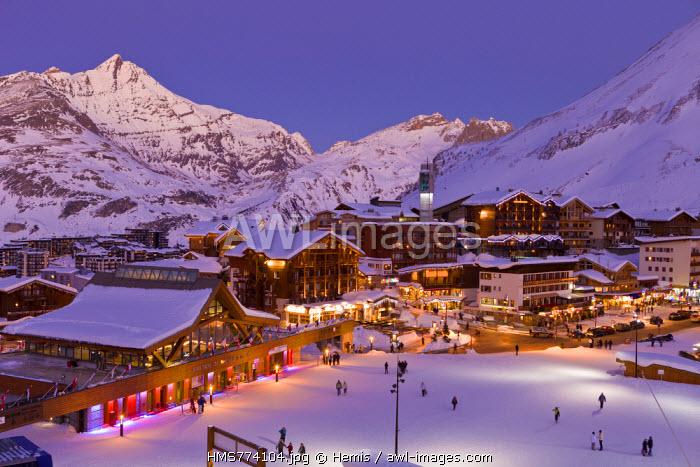 France, Savoie, Tignes, Massif de la Vanoise, Tarentaise valley