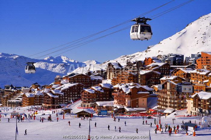 France, Savoie, Val Thorens, Funitel Peclet