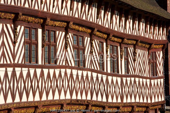 France, Seine-Maritime, Saint-Valery-en-Caux, Henry IV House, tourist center