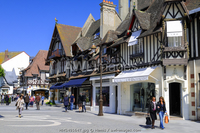 France, Calvados, Deauville, Casino street