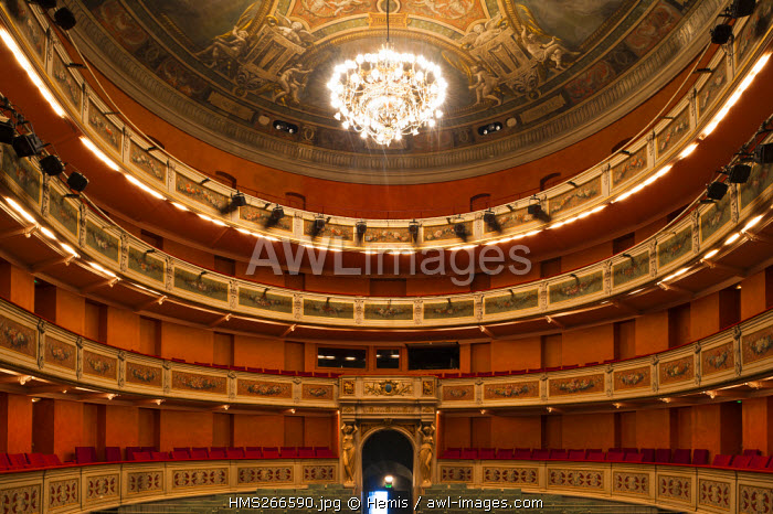 France, Savoie, Chambery, Charles Dullin Theatre