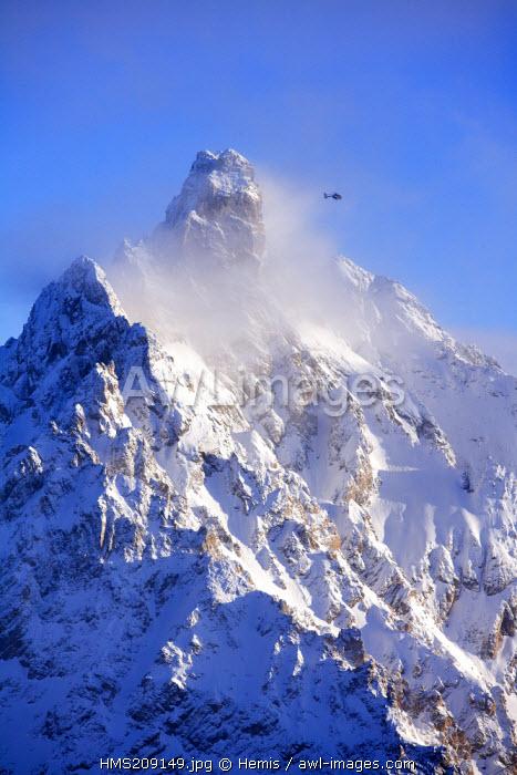 France, Savoie, Vanoise National Park, Aiguille du Fruit (3051 m)