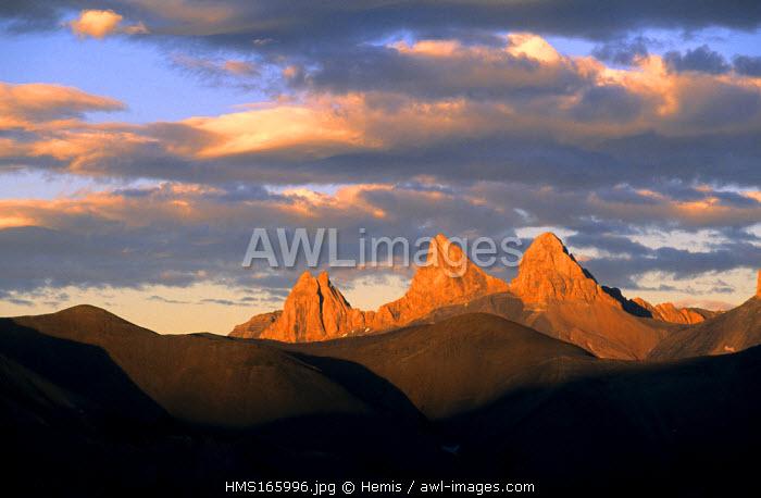 France, Savoie, Aiguilles d' Arves