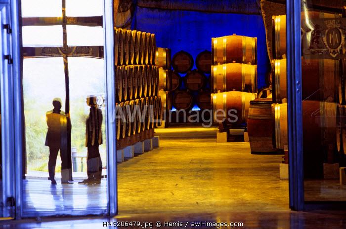 France, Drome, Tain l'Hermitage, Cave de Degustation Vineum, Paul Jaboulet A�ne, compulsory mention