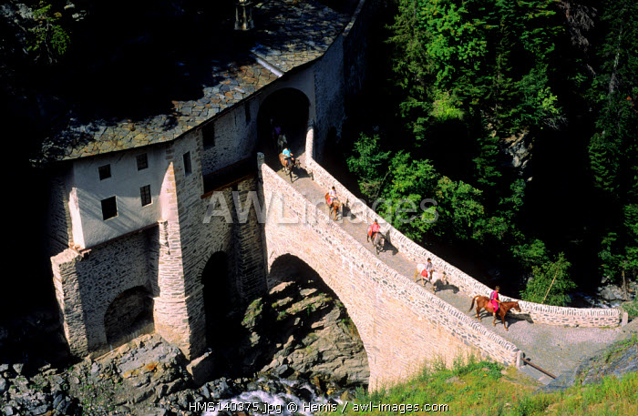 France, Savoie, Val frejus, La Charmaix Chapel
