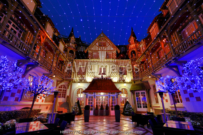 France, Calvados, Pays d'Auge, Deauville, Normandy Barriere Hotel