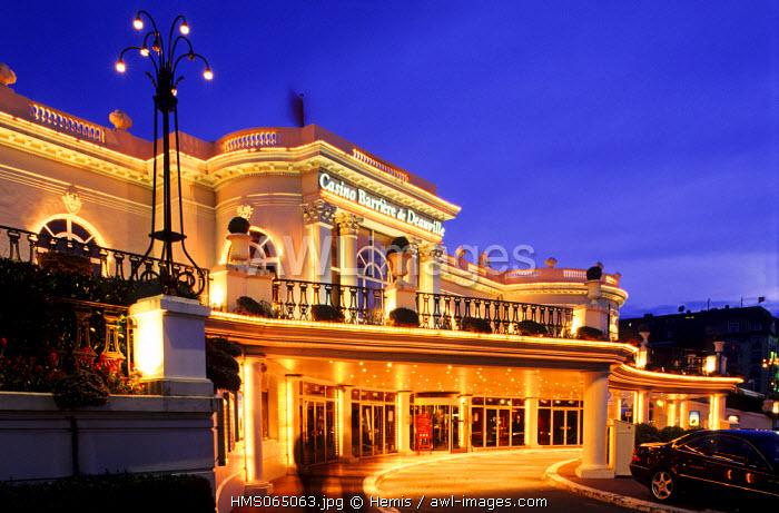 France, Calvados, Pays d'Auge, Deauville casino