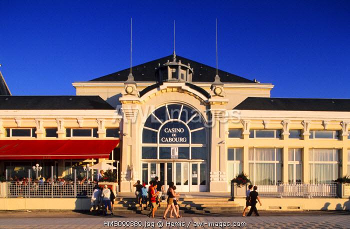 France, Calvados, Cabourg Casino