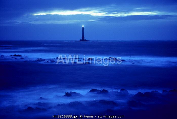 France, Manche, Cotentin, lighthouse of the Cap de la Hague