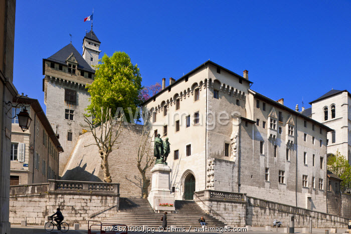 France, Savoie, Chambery, the old town, the castle of the Dukes of Savoy