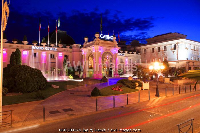 France, Savoie, Aix les Bains, Casino Grand Cercle