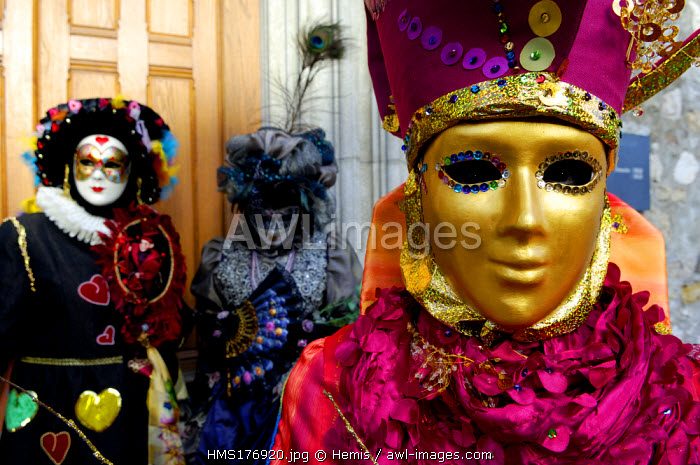 France, Haute Savoie, Annecy, venetian carnival of Annecy 2007