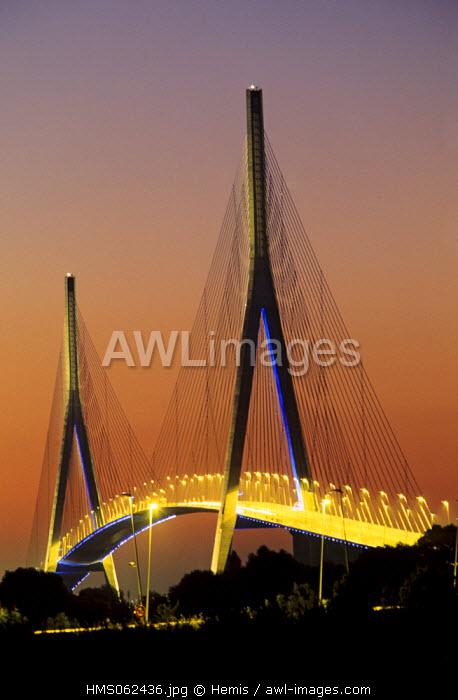 France, Calvados, Normandy Bridge