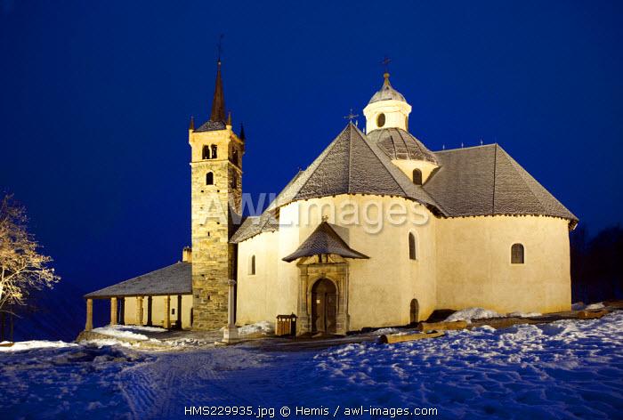 France, Savoie, Saint Martin de Belleville, Notre Dame de la Vie Chapel