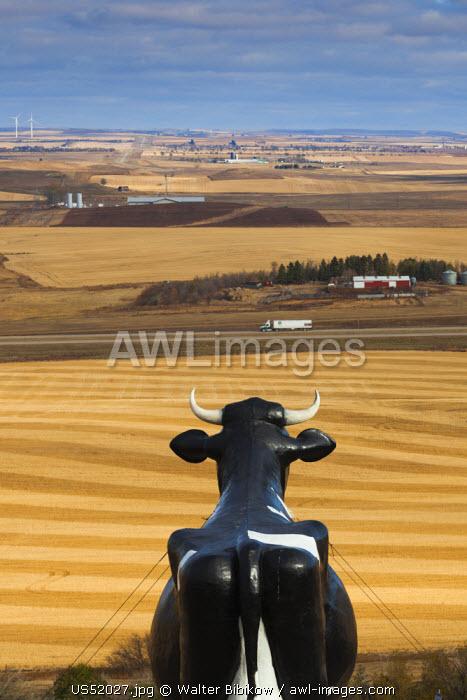 USA, North Dakota, New Salem, Salem Sue, World's Largest Holstein Cow