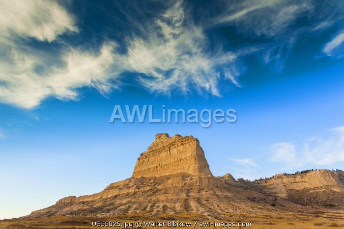 USA, Nebraska, Scottsbluff, Scotts Bluff National Monument