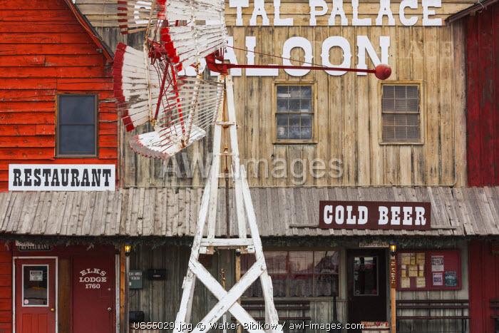 USA, Nebraska, Ogallala, Front Street Western Town