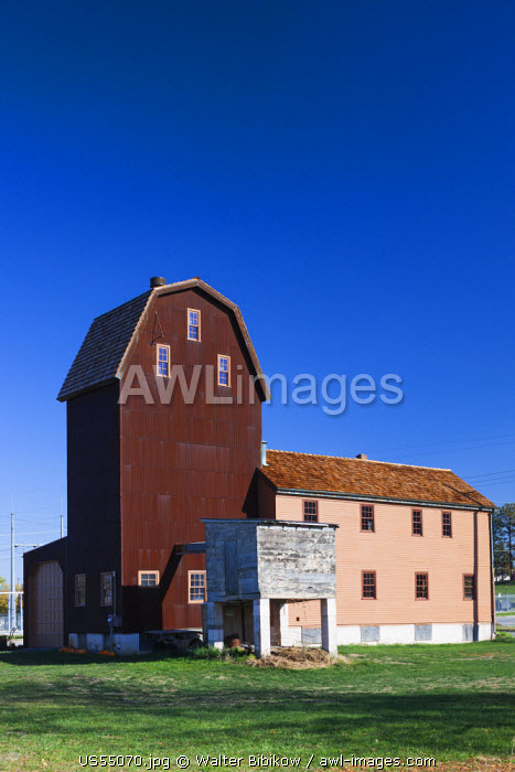 USA, Nebraska, Omaha, Historic Florence Mill