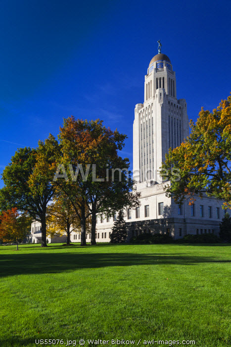 USA, Nebraska, Lincoln, Nebraska State Capitol
