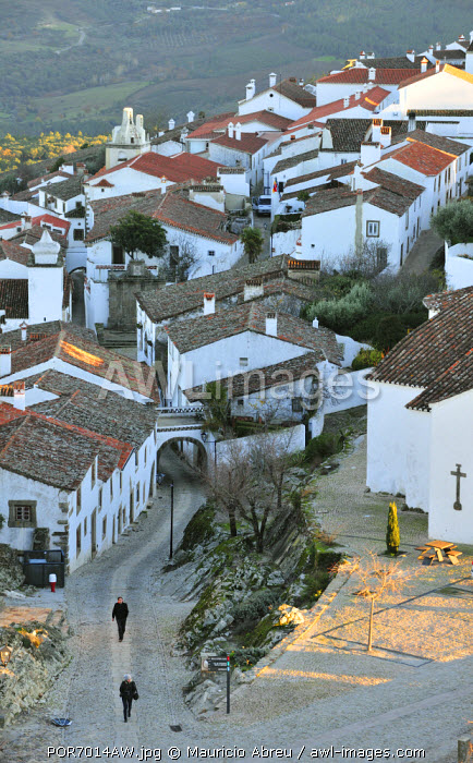 The medieval village of Marvao. Alentejo, Portugal