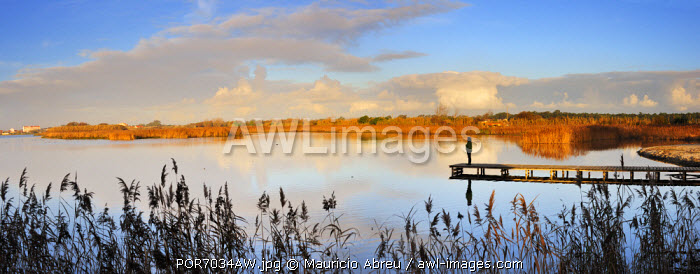 The lagoon of Mira, place of serenity and meditation. Portugal (MR)