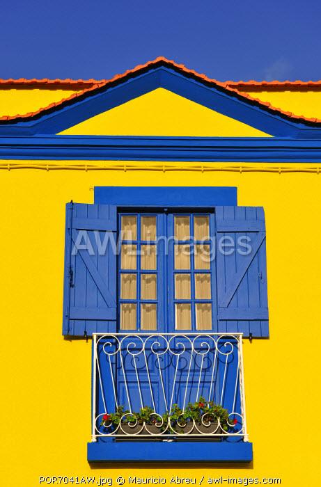Detail of a house. Aveiro. Portugal