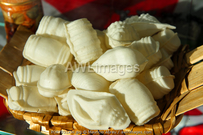 """Ovos Moles or""""soft eggs"""", literally, is a local delicacy from Aveiro, Portugal, made of egg yolks and sugar."""