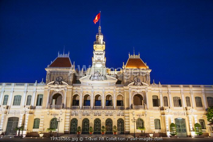 Vietnam, Ho Chi Minh City, Hotel de Ville aka City Hall