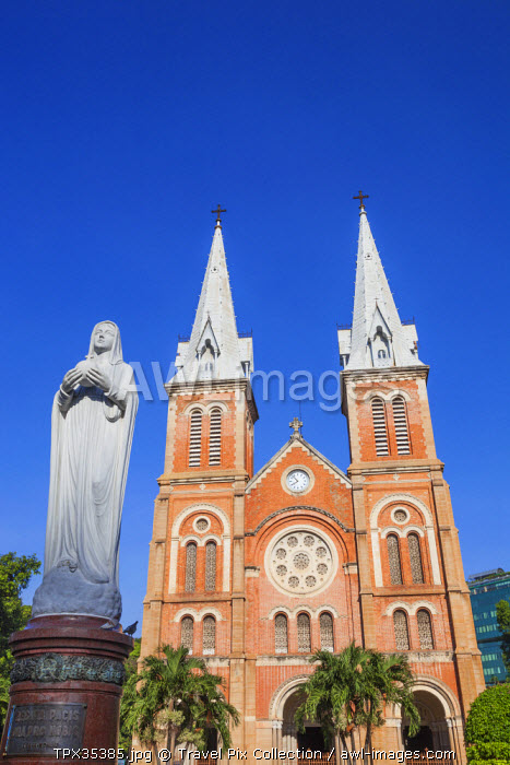Vietnam, Ho Chi Minh City, Notre Dame Cathedral