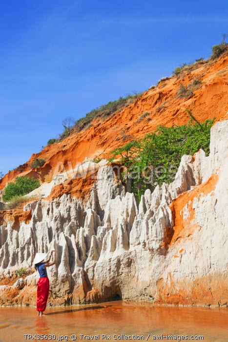 Vietnam, Mui Ne, Red Canyon and The Fairy Spring (Suoi Tien)
