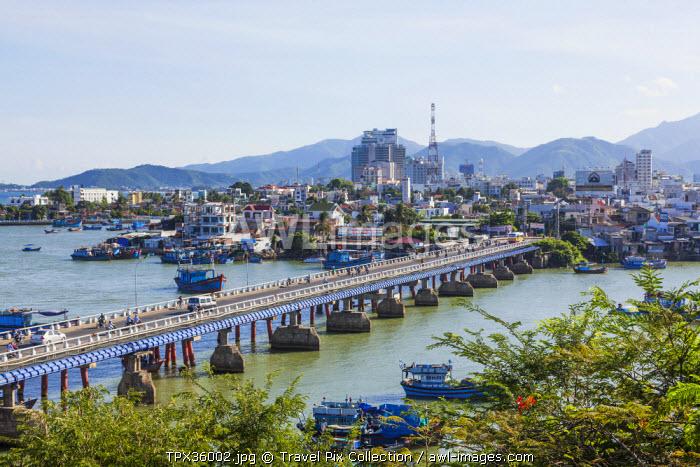 Vietnam, Nha Trang, City Skyline