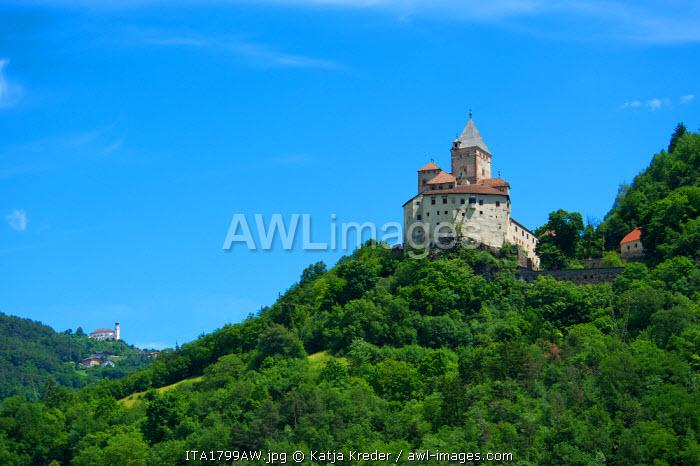 Trostburg Castle in Waidbruck, Trentino South Tyrol, Italy