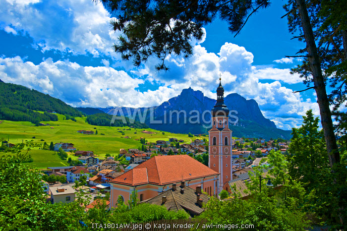 Kastelruth, Castelrotto, Seiser Alm, Trentino, South Tyrol, Italy