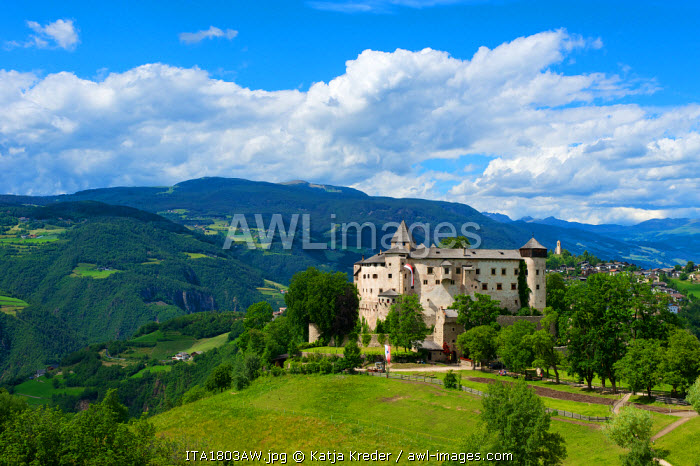 Proesels Castle, Seiser Alm, Trentino, South Tyrol, Italy
