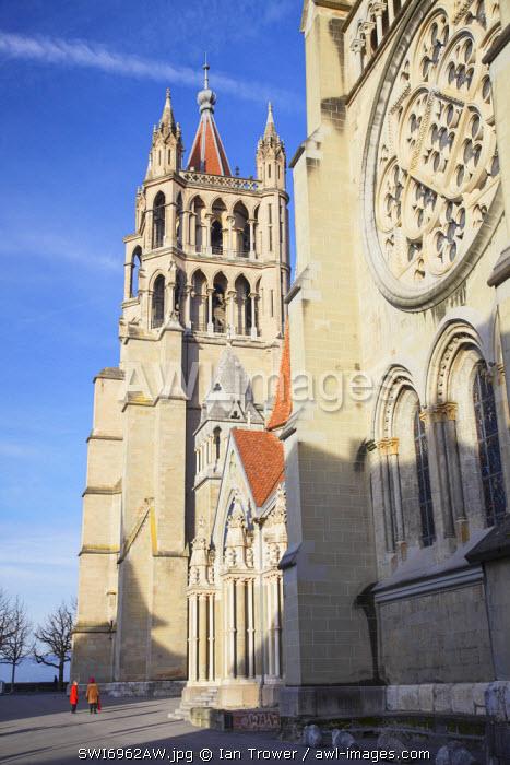 Lausanne Cathedral, Lausanne, Vaud, Switzerland