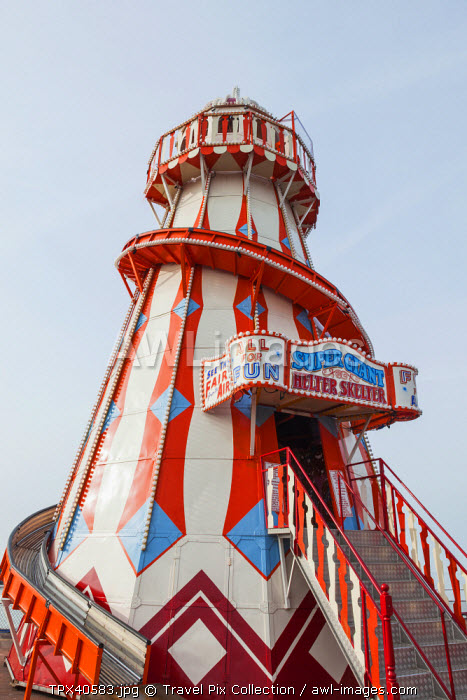 England, East Anglia, Essex, Clacton-on-Sea, Clacton Pier, Helter-Skelter