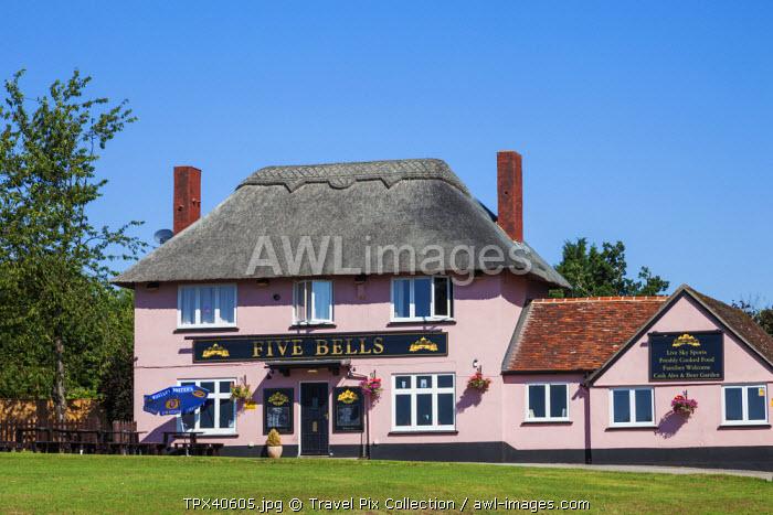 England, East Anglia, Suffolk, Cavendish, Country Pub