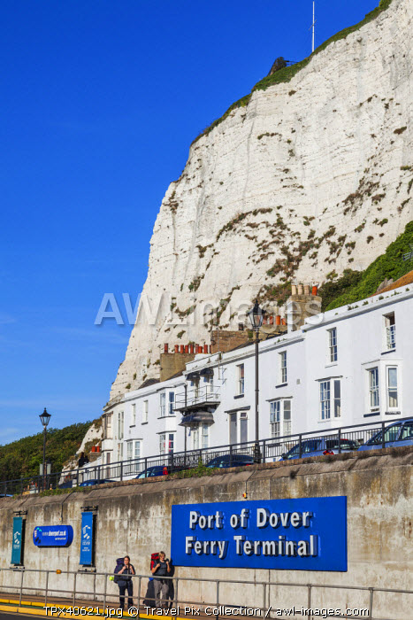 England, Kent, Dover, The White Cliffs of Dover