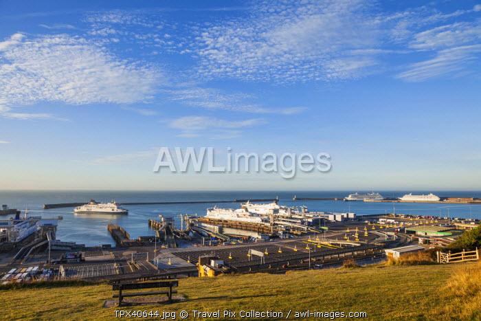 England, Kent, Dover, Dover Port