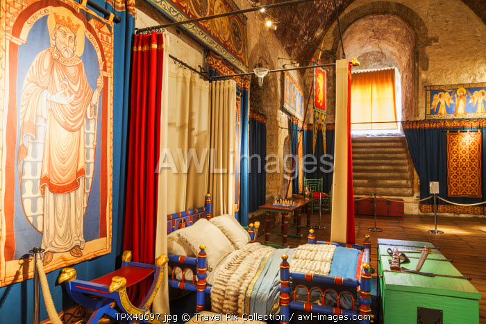 England, Kent, Dover, Dover Castle, The Great Tower, Interior Exhibit