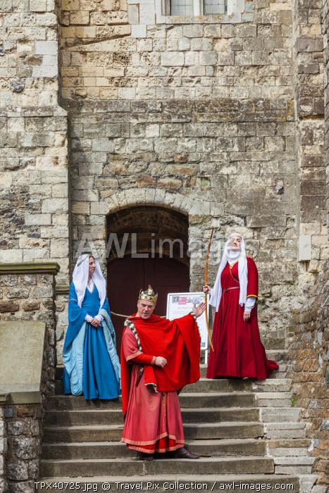 England, Kent, Dover, Dover Castle, Historic Re-enactment Show
