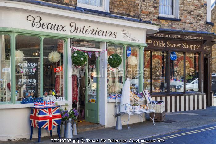 England, Kent, Margate, Old Town, Shops