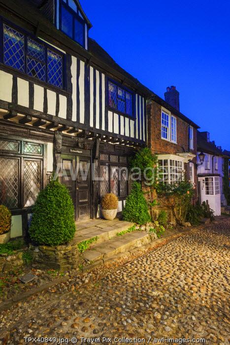 England, East Sussex, Rye, Mermaid Street