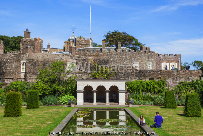 England, Kent, Deal, Walmer, Walmer Castle and Gardens